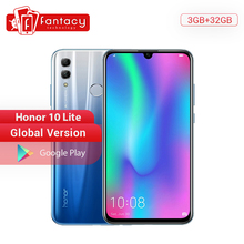 Global Version Honor 10 Lite Smartphone Kirin 710 Octa Core 6.21 inch 24MP Front Camera Mob