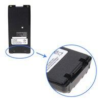 רדיו דו כיווני 2x Pack עבור אייקום BP-210 רדיו דו כיווני סוללה עם קליפ (1300mAh 7.2V NI-CD) - עבור IC-A24 IC-V8 IC-V82 IC-A6 IC-F21 IC-F21 (5)