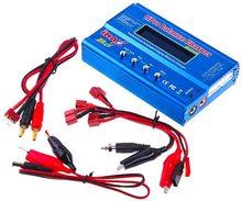 Iimax B6 batería de litio multifunción RC Nimh Nicd, Balance Lipo, cargador de batería, descargador de equilibrio con pantalla LCD Digital