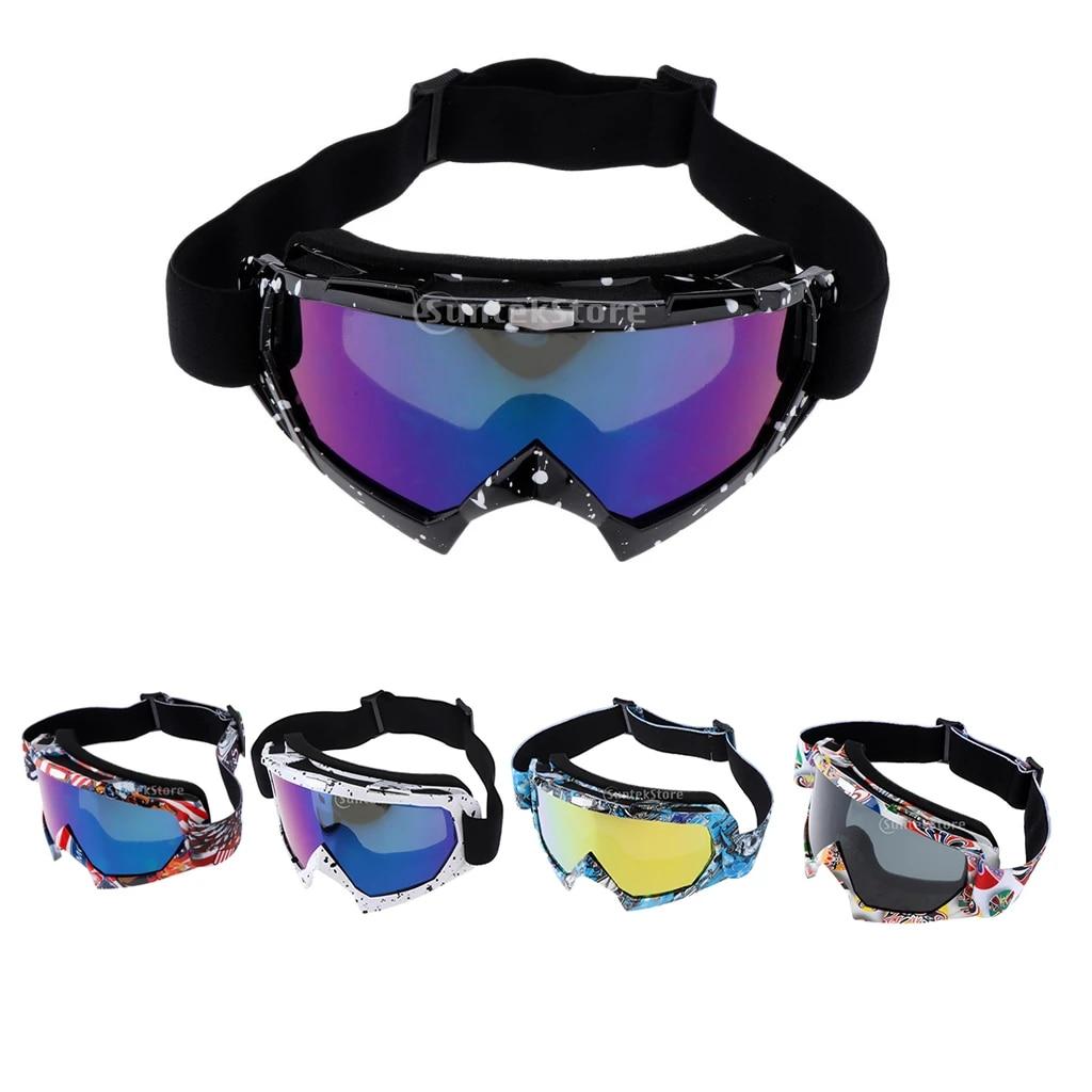Ski Goggles Snowboard Anti-Fog Glasses Eyewear UV Snow Winter Motorcycle Skiing