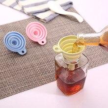Mini-Tool Kitchen Silicone 1pcs Funnels Oil-Honey Folding Foldable-Shape Portable