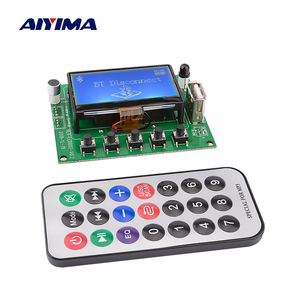 AIYIMA MP3 Decoder Board Module 12V Lyrics Display LCD Bluetooth 5.0 Car USB MP3 Player WMA WAV Support TF Card USB FM Remote
