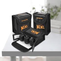 Bezpieczna torba na akumulator do DJI Mavic MINI Drone futerał ochronny Transport Protector przeciwwybuchowe akcesoria przeciw zadrapaniom Torby na drony Elektronika użytkowa -