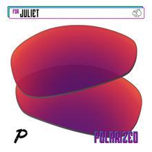 EZReplace Polarized Replacement Lenses for - Oakley Juliet Sunglasses - Midnight P
