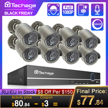 Surveillance-Set Nvr-Kit Audio-Record Ip-Camera Cctv-Security-System POE P2p-Video Outdoor