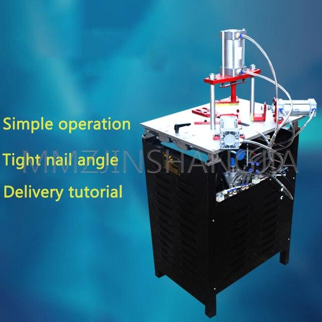 Фото направляющая четырехцилиндровая машина для резки гвоздей рамок