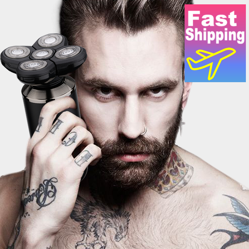 Новинка 2020 электробритва перезаряжаемый электрический триммер для бороды бритвенный станок для мужчин бритва для бороды мокрая сушка двойного назначения Моющаяся|Электробритвы|   | АлиЭкспресс