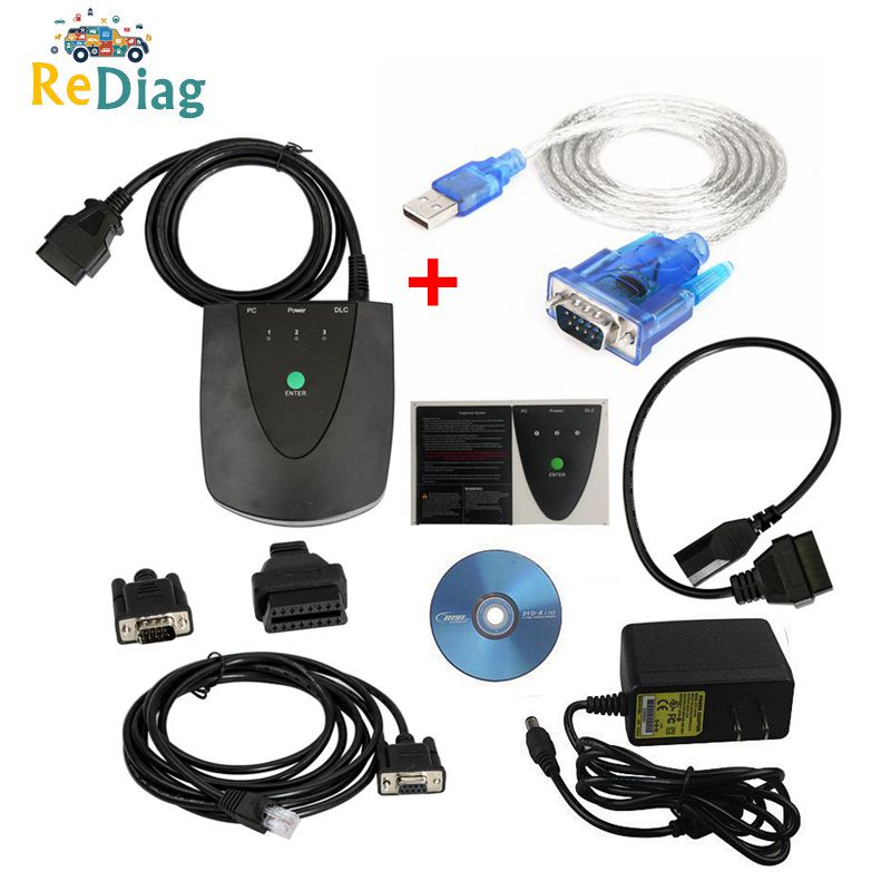 High Quality wite Latest software V3.102.051 for Honda HDS HIM Diagnostic Tool with Double Board with Z-tek RS232