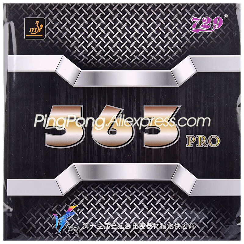 729 Friendship 563 PRO (563 Provincial, Pips-out Special) 729 Table Tennis Rubber Original 729 Ping Pong Sponge