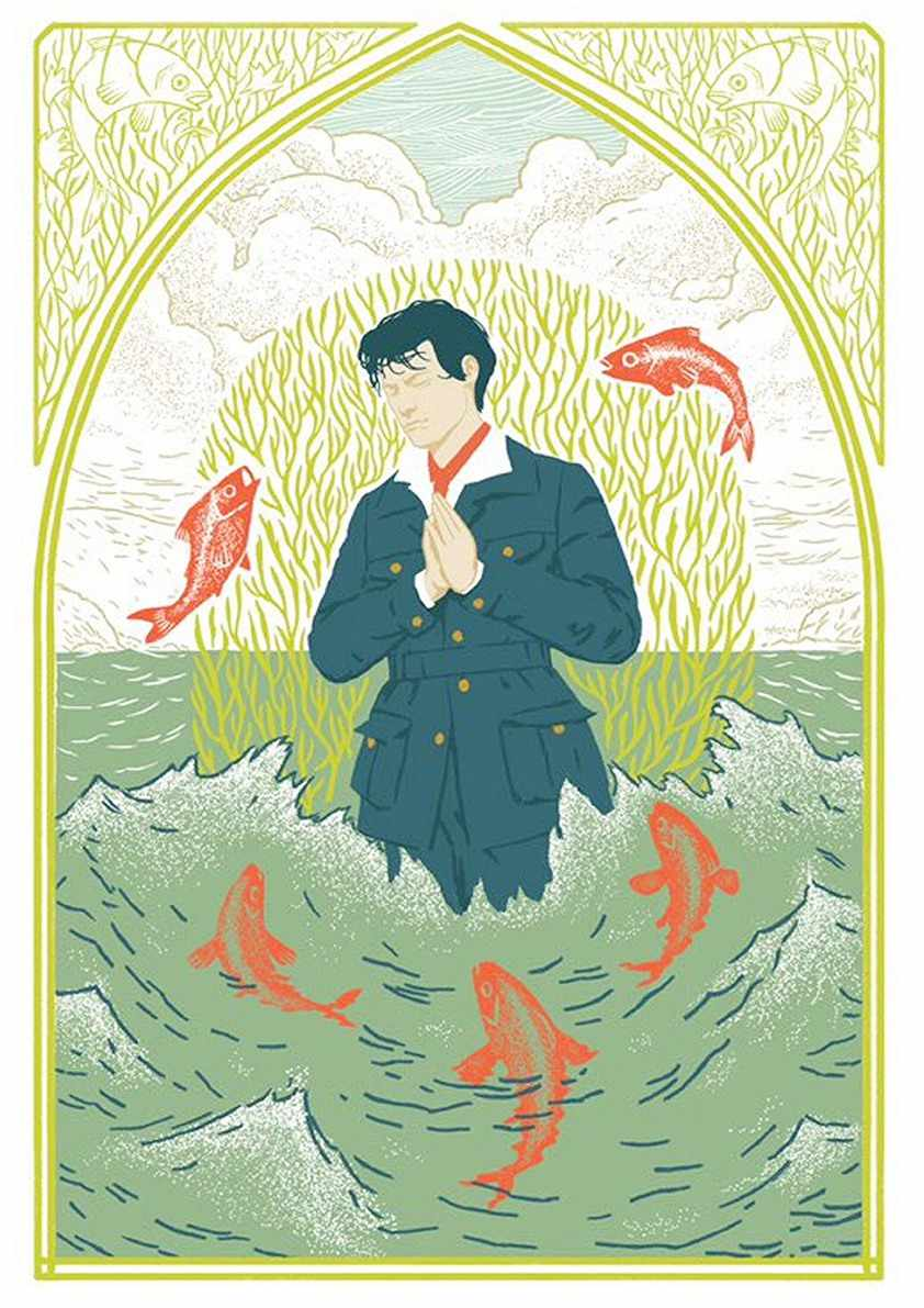 Makoto Shinkai ญี่ปุ่นอะนิเมะภาพยนตร์ Weathering คุณเคลือบโปสเตอร์และพิมพ์สีขาวกระดาษภาพวาด Decorfor Home Decor
