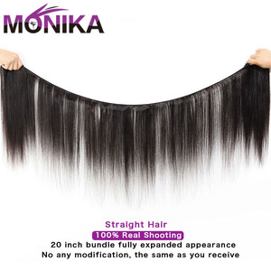 Image 2 - Monika cheveux malaisie paquets de cheveux raides avec Frontal 28 pouces cheveux humains frontaux avec faisceaux non remy cheveux frontaux et faisceaux