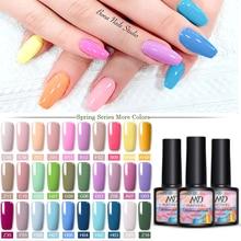 MAD DOLL 8ml Spring Series Gel Polish Color Nail Gel Polish Soak Off LED UV Gel Polish Nail UV Gel Nail Art DIY Design Varnish
