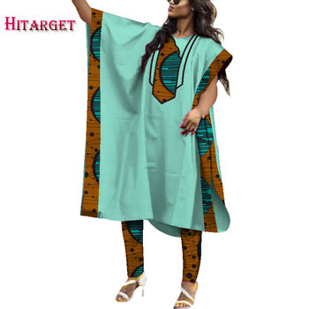 dashiki robes african for women clothes suit 2 pieces Customizable wholesale  clothing WY3953