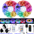 WS2812B IC LED Strip Lights Rainbow Flexible Ribbon BackLight RGB LED Strip 5050 Room Decoration Alexa Smart Lights Diode Tape