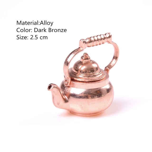 Dollhouse Miniature   Copper Tea Service ONLY