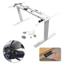500mm Sit-Stand Height Adjustable Desk Frame Table Desk Frame Single Motor 180lb Load Office Study Use