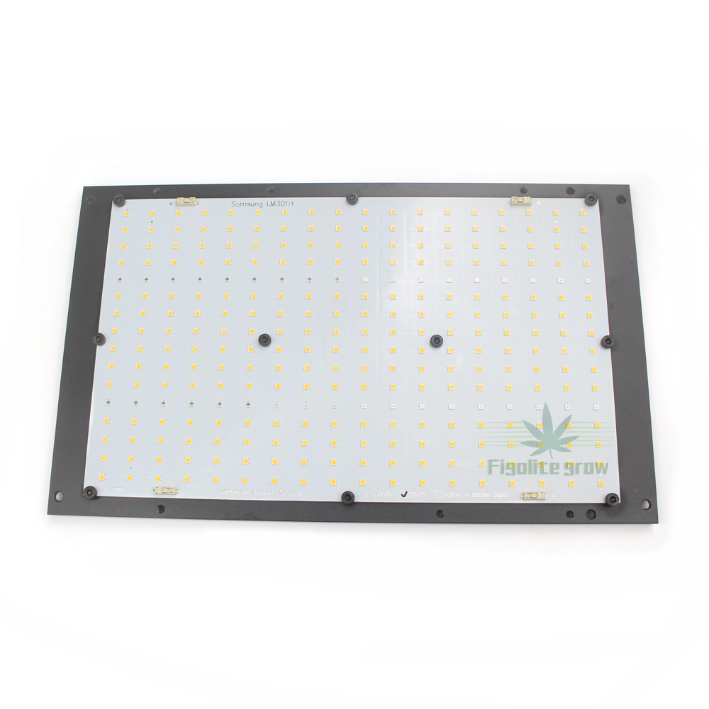 Samsung LM301H Quantum Tech Board 125W Mix 660nm UV IR LED Grow Light, LED Board With Heat Sink Only , No Driver