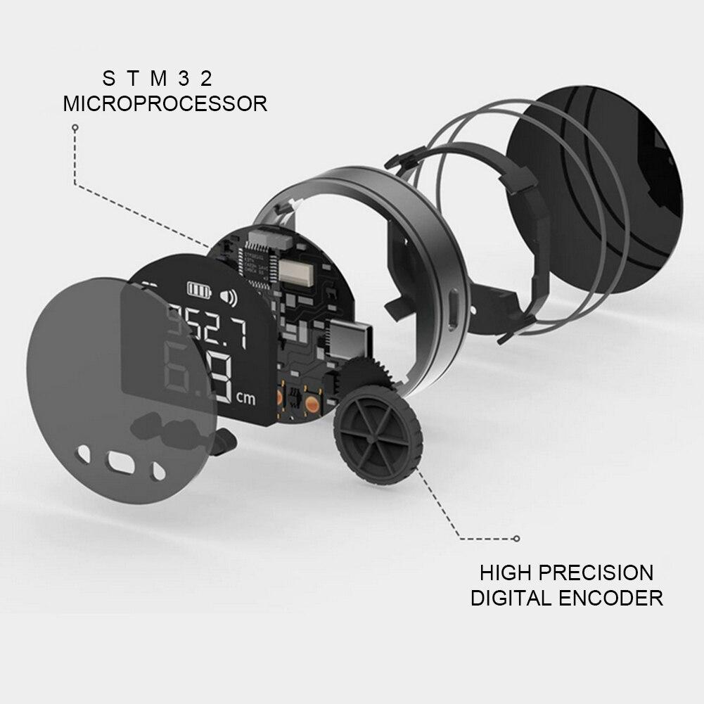 a laser digital usb recarregável rangefinder comprimento medida rangefinder