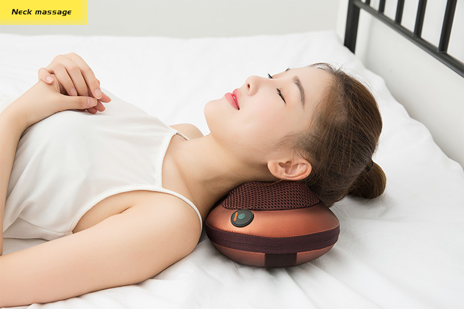 Cellulite Electrical Shiatsu Back Neck Shoulder Massager And 4D Kneading Body Spa With Infrared Heating 8