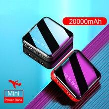 Mini Power Bank 20000mAh For Xiaomi Mi Powerbank Pover