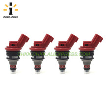 CHKK-CHKK High Flow performance 1000cc fuel injector for NISSAN 92-99 Altima Silvia 180sx SR20 S13 S14 S15 200sx