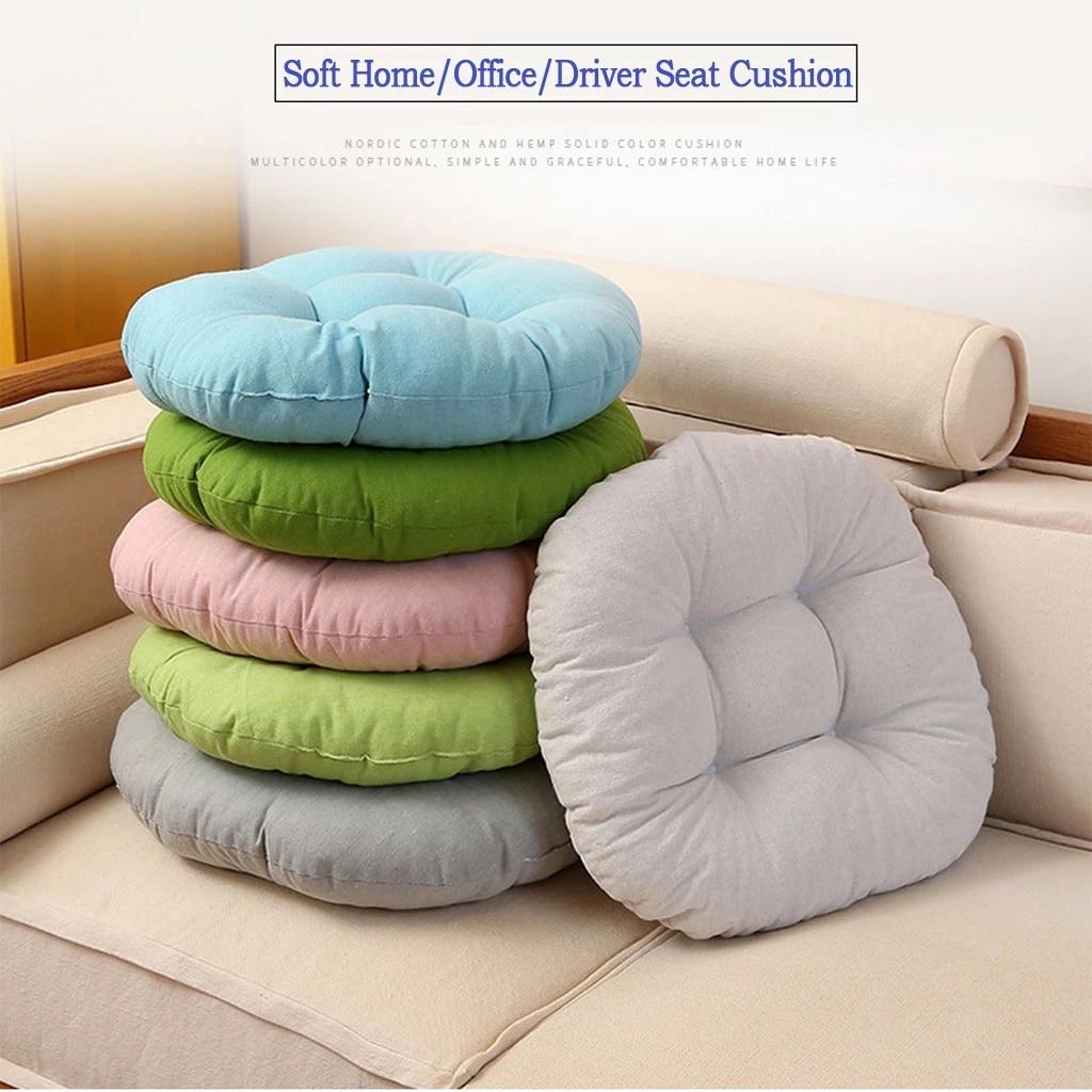 Picture of: 45cm Sofa Foam Seat Cushion Bar Stool Pad Computer Office Chair Seat Cushion Chair Seat Pads Home Garden Floor Cushion Seat Cushion Aliexpress