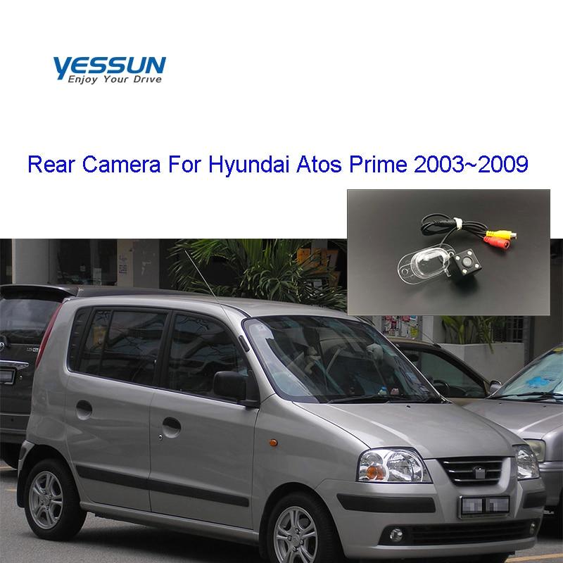 Yessun Car Rear View Camera HD Night Vision Reverse Camera IP67 DC 12V For Hyundai Atos Atos Prime 2003~2009