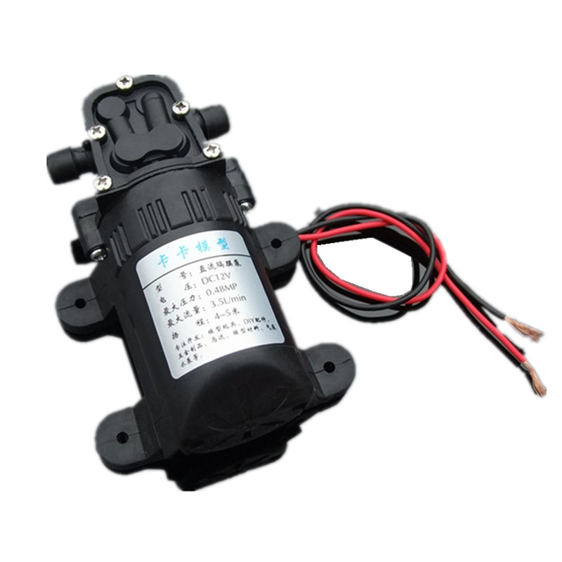 550 Diaphragm Pump 12V Watering Spray Aquarium Recirculation Pump Over 385/545 Water Pump Bath Pump