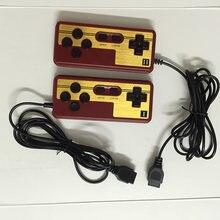 2 pces/1pc nostalgia gamepad especial, alça para o nes 9 pinos soquete controlador gamepads linha comprimento 1.8 metros