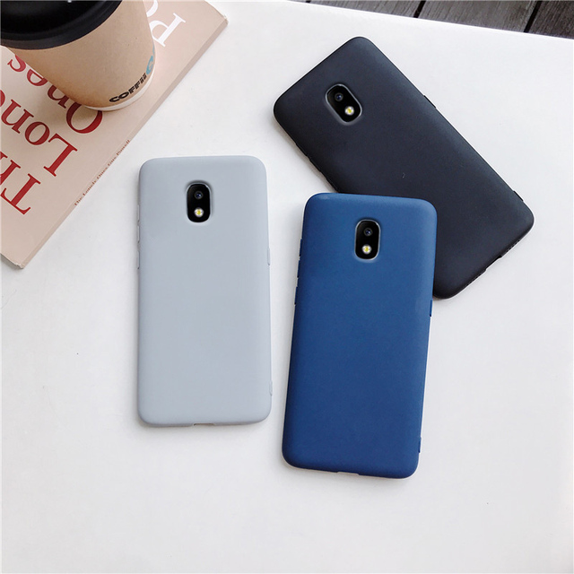 candy color silicone phone case for samsung galaxy j7 pro j5 j3 2017 2016 2015 a6 a8 j8 j6 j4 plus 2018 matte soft tpu cover 3