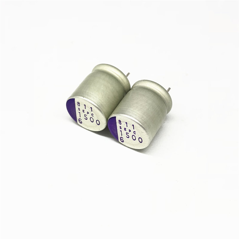 10pcs 1500uF 6.3V SANYO OS-CON SEPC 10x12.5mm Super Low ESR 6.3V1500uF For Motherboard/VGA Solid Capacitor