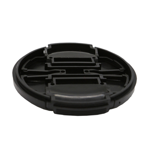 Image 2 - 10pcs/lot High quality 40.5 49 52 55 58 62 67 72 77 82mm center pinch Snap on cap cover for SONY camera Lens