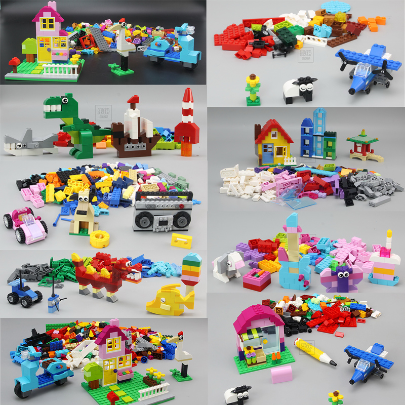 <font><b>Classic</b></font> Blocks 42001 840PCS Creator Creative lepine Building Blocks Bricks enlighten DIY toys for children gifts <font><b>10698</b></font> 10696 image