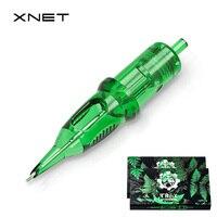 XNET TREX-cartucho de tatuaje permanente, agujas de maquillaje, pluma, Microblading, permanente, para cejas, suministro de tatuaje
