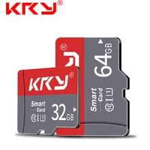 Карта памяти KRY, 32 ГБ, 16 ГБ, 8 ГБ, 128 ГБ, 64 ГБ, Microsd карта C10, Micro TF, SD карта, 8, 16, 32, 64, 128 ГБ, адаптер Cartao De Memoria Carte