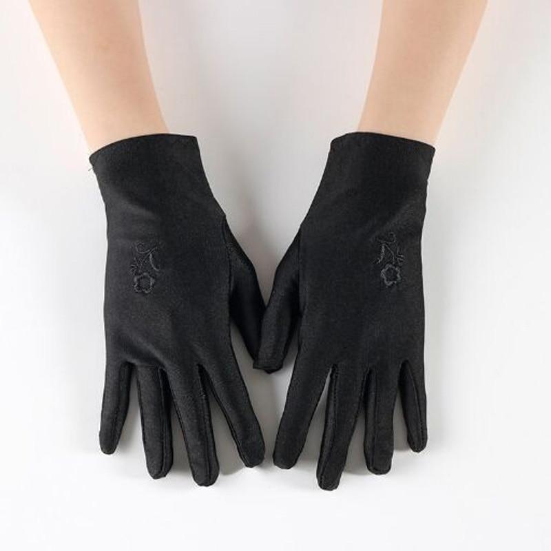 Magic Winter Gloves WARM Ski Outdoors Stretch One Size Neon Plain Black 1pc New
