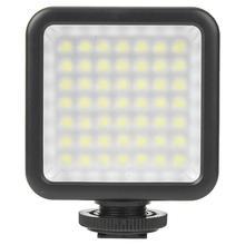 Nouveau 5.5W DC3V 6000K LED photographie lumière vidéo lampe caméra remplir lumières pour DSLR caméra lumière vidéo lampe