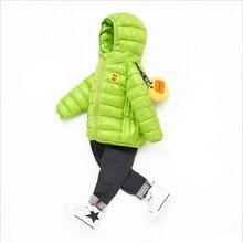 Новое весеннее Детское пальто Осенняя детская куртка Верхняя одежда для мальчиков enfant пальто одежда для малышей легкая пуховая хлопковая одежда для девочек