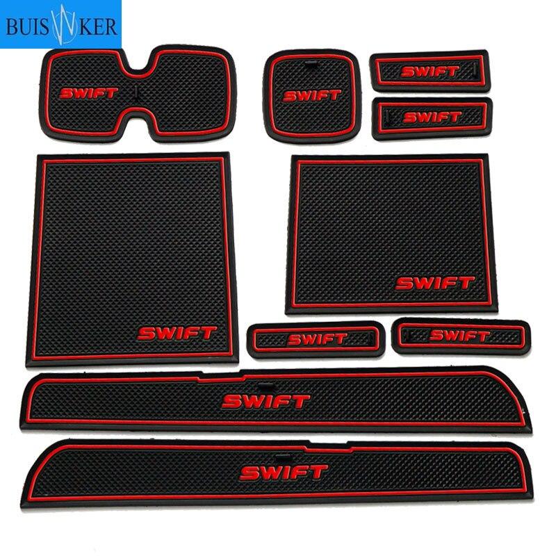 Car Gadget Pad For Suzuki Swift 2004 2005 2006 2007 2008 2009 2010 Maruti Sport Accessories ZD11S ZC31S Accessories Gel Pad Rubb