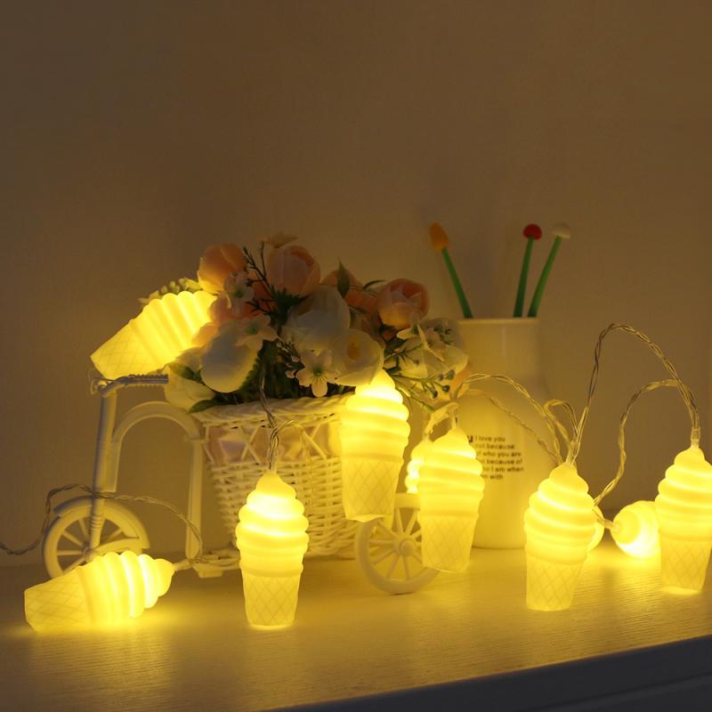 Dekoration Licht Eis Form Led-lampen 1,5 m Led-leuchten Kreative Urlaub beleuchtung Für Hochzeit Party Dekoration Licht