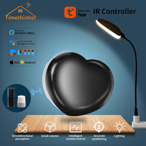 Image 1 - Timethinker Tuya חכם בית IR שלט רחוק לעבוד עם Alexa Google בית לב צורת LED אור עבור Broadlink Xiaomi