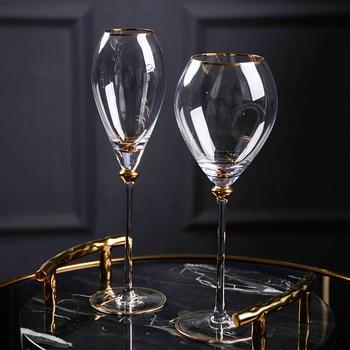 2Pcs Retro  Wine Glass  1