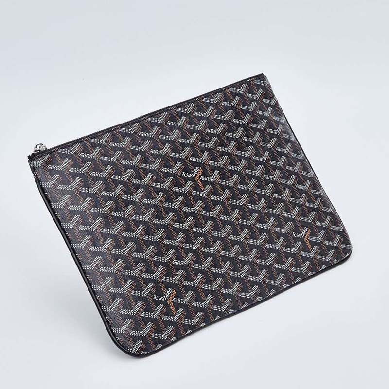 The New Zipper Clutch Korean Printed Women's Bag Goya With A Briefcase Purse Women Bag