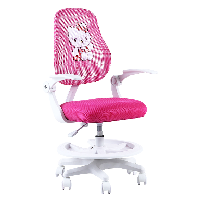 Children's Raised And Lowered Student Desk Computer Chair Bedroom Room Back Swivel Chair Roomswivel Bambini