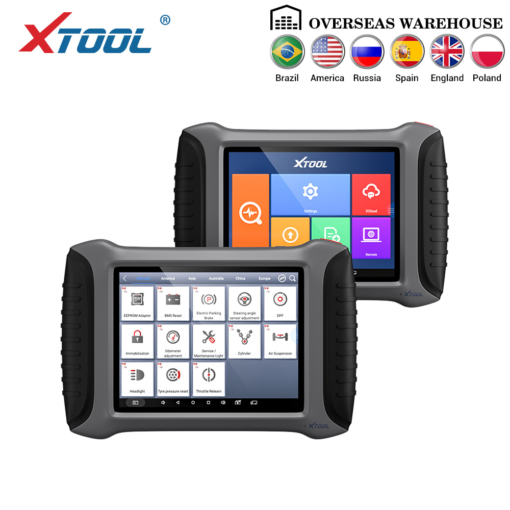 XTOOL Car-Diagnostic-Tool Vehicle Full-System Programming/odometer-Adjustment Bluetooth/wifi title=