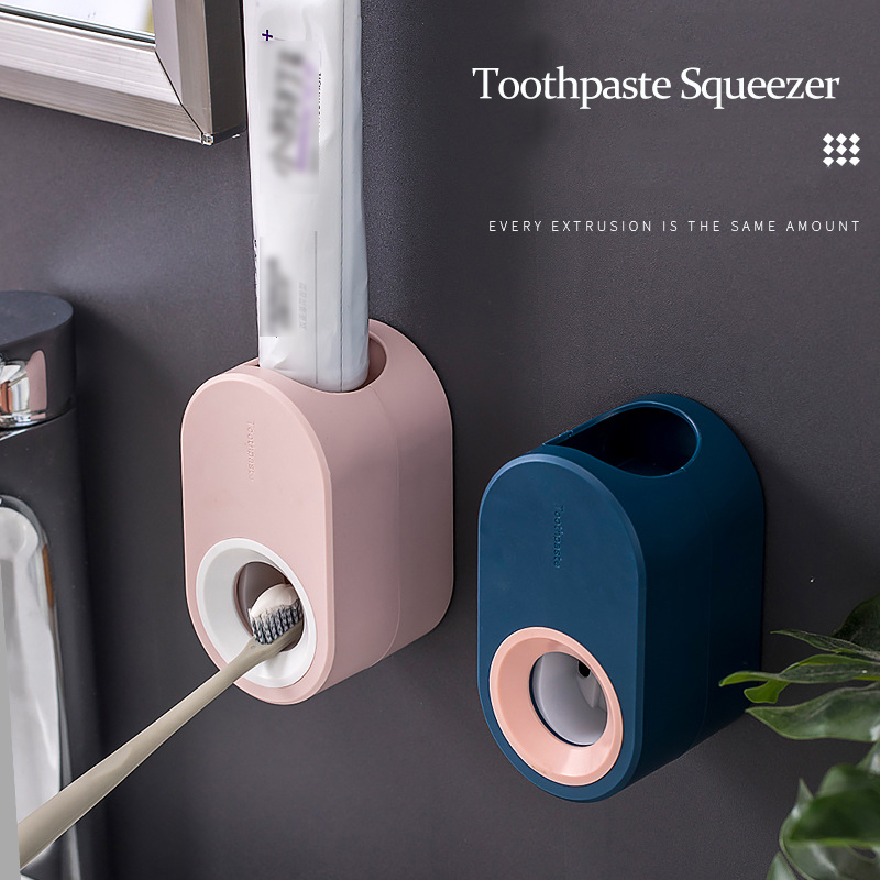 Multifunction Rolling Tube Toothpaste Squeezer Toothpaste Dispenser Bathroom Accessories Sets Toothpaste Dispenser Stand Gadget