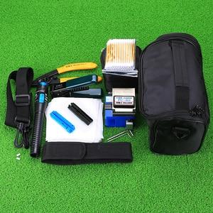 Image 2 - KELUSHI 13 PCS Practical FTTH Fiber Optic Tool Kit with FC 6S Fiber Cleaver and 5Mw Visual Fault Locator Fiber Optic Stripper