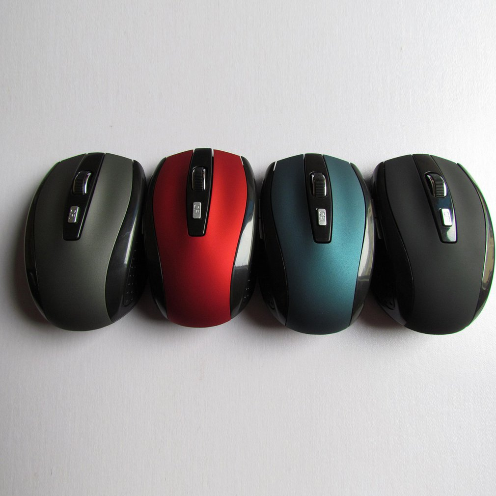 2.4G Wireless Mouse Durable Optical Computer Mouse Ergonomic Mice For Laptop Universal Computer Peripherals 4 Color