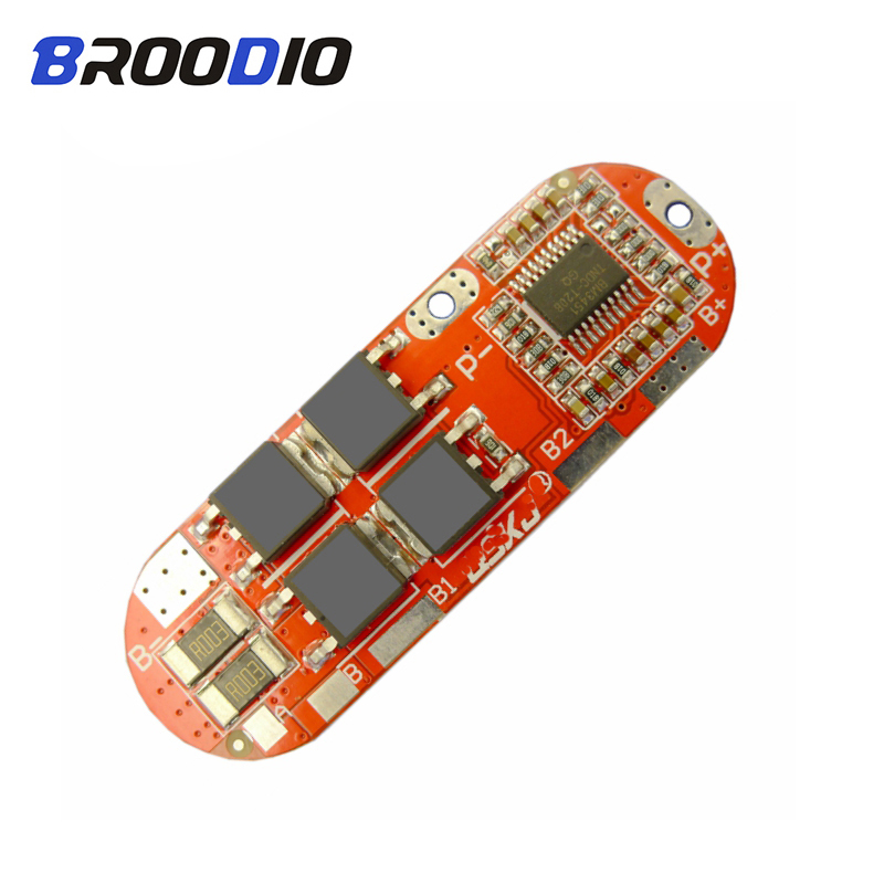 <font><b>3S</b></font> 4S 5S BMS 18650 lto Lithium <font><b>Battery</b></font> Protection Circuit Equalizer Board 25A 12.6V 16.8V 21V balancer Balance Cell <font><b>Pack</b></font> Module image