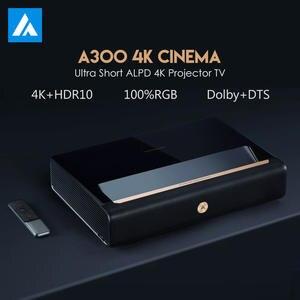 WEMAX 4K Projector Speaker Short TV ALPD Home-Theater-Support Lumen 9000 3D Throw Ultra